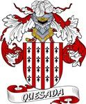 Quesada Family Crest / Quesada Coat of Arms