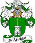 Saldana Family Crest / Saldana Coat of Arms