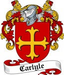Carlyle Family Crest, Coat of Arms