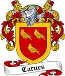 Carnes Family Crest, Coat of Arms
