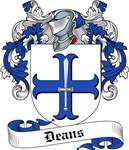 Deans Family Crest, Coat of Arms
