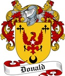 Donald Family Crest, Coat of Arms