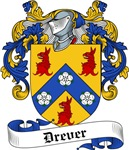 Drever Family Crest, Coat of Arms