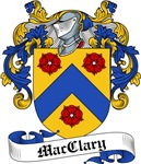 MacClary Family Crest, Coat of Arms