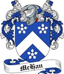 McHan Family Crest, Coat of Arms