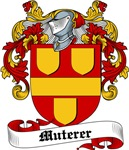 Muterer Family Crest, Coat of Arms