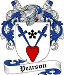 Pearson Family Crest, Coat of Arms
