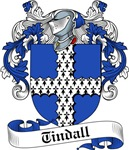 Tindall Family Crest, Coat of Arms