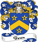 Baron Family Crest, Coat of Arms
