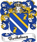 Barthelemy Family Crest, Coat of Arms