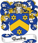 Baudry Family Crest, Coat of Arms