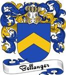 Bellanger Family Crest, Coat of Arms