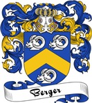 Berger Family Crest, Coat of Arms