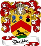 Berthier Family Crest, Coat of Arms