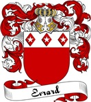 Evrard Family Crest, Coat of Arms