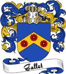 Gallet Family Crest, Coat of Arms