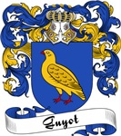 Guyot Family Crest, Coat of Arms
