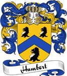Humbert Family Crest, Coat of Arms