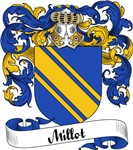 Millot Family Crest, Coat of Arms