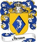Moreau Family Crest, Coat of Arms