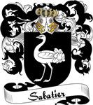 Sabatier Family Crest, Coat of Arms