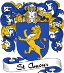 St. Amour Family Crest, Coat of Arms