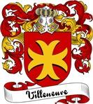 Villeneuve Family Crest, Coat of Arms