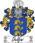Delfini Family Crest, Coat of Arms