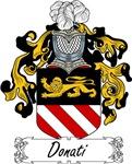 Donati Family Crest, Coat of Arms