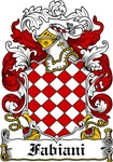 Fabiani Family Crest, Coat of Arms