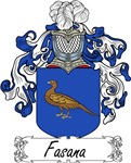 Fasana Family Crest, Coat of Arms
