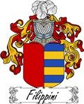 Filippini Family Crest, Coat of Arms