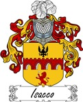 Isacco Family Crest, Coat of Arms