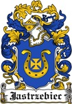Jastrzebiec Family Crest, Coat of Arms