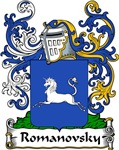 Romanovsky Family Crest, Coat of Arms