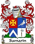 Samarin Family Crest, Coat of Arms