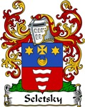 Seletsky Family Crest, Coat of Arms