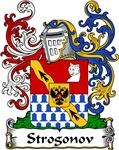 Strogonov Family Crest, Coat of Arms