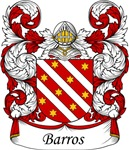 Barros Family Crest, Coat of Arms