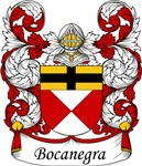 Bocanegra Family Crest, Coat of Arms