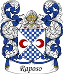Raposo Family Crest, Coat of Arms