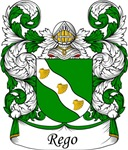 Rego Family Crest, Coat of Arms
