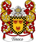 Tinoco Family Crest, Coat of Arms
