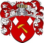 Brugman Family Crest, Coat of Arms