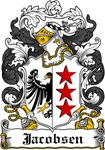 Jacobsen Coat of Arms, Family Crest