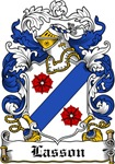 Lasson Coat of Arms, Family Crest