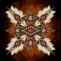 Native American Style Mandala 28