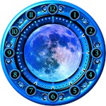 Clock of the Blue Moon
