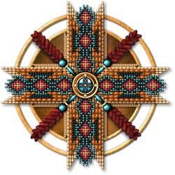 Native American Mandala 01