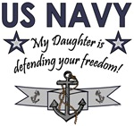 US NAVY - My Daughter is defending your freedom